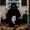 Myself and beloved cat.